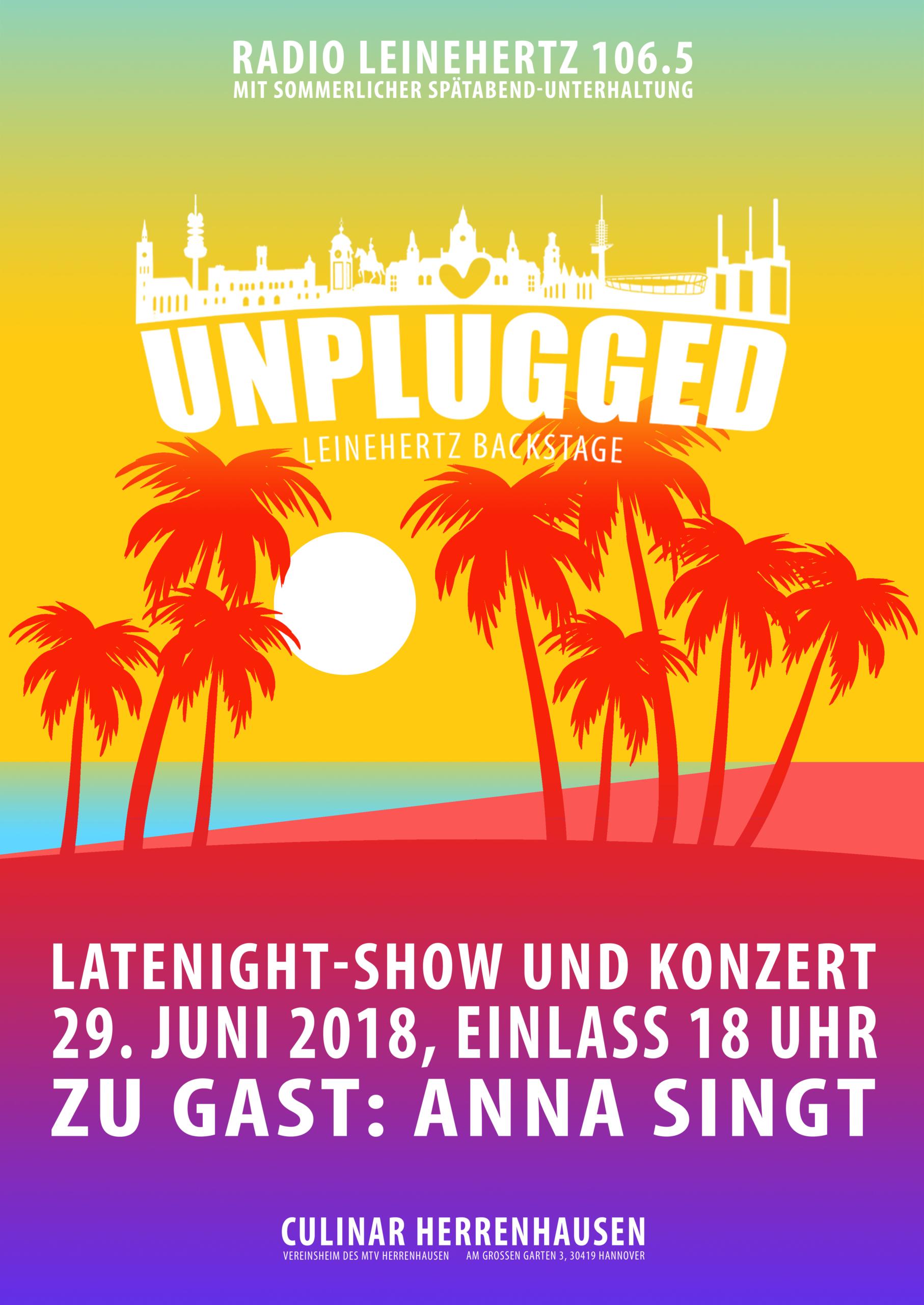Veranstaltungsplakat Unplugged